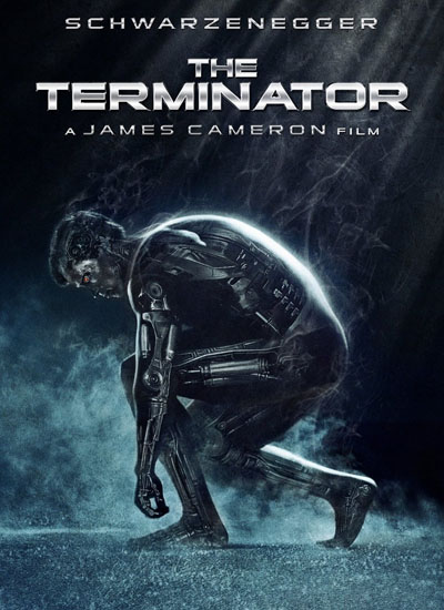 James Cameron The Terminator Poster Affiche