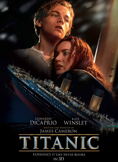 titanic 1998 james cameron france