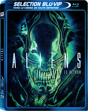 James Cameron Aliens Blu-ray Poster Affiche