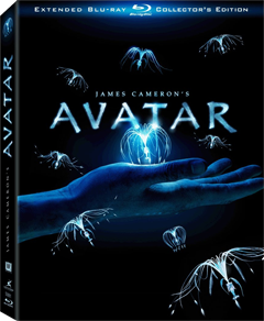 James Cameron Avatar Blu-ray Poster Affiche