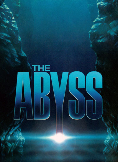James Cameron The Abyss Poster Affiche
