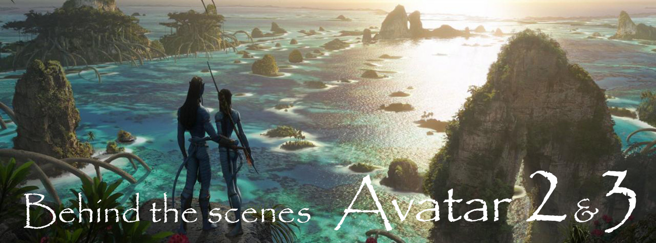 James Cameron Avatar 2 - behind the scenes