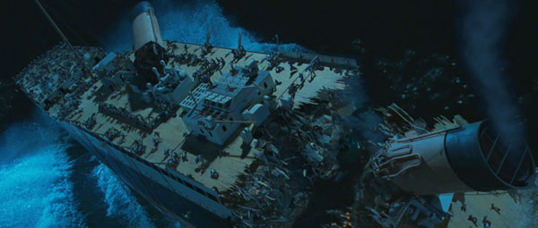James Cameron Titanic Blu-ray