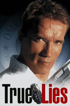 James Cameron True Lies Poster Affiche